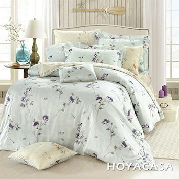HOYACASA 唯美旋律 雙人天絲四件式兩用被床包組