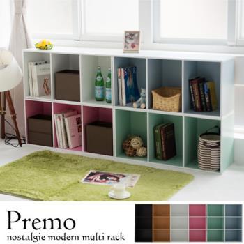 《舒適屋》馬卡龍三層空櫃/書櫃/置納櫃/收納櫃(6色可選)
