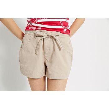 【TOP GIRL】蝴蝶結休閒短褲-共三色