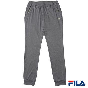 FILA女性縮口吸排長褲(簡約灰)5PNP-1455-RG