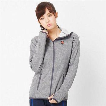 【TOP GIRL】連帽運動外套(灰色)
