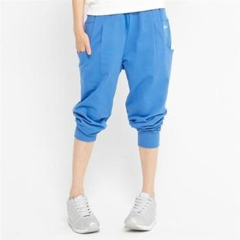 【TOP GIRL】棉質八分老爺褲(藍色)
