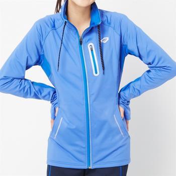 【TOP GIRL】立領彈性運動外套(藍色)