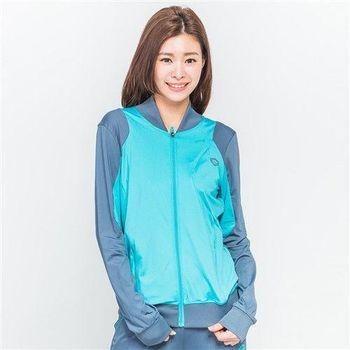 【TOP GIRL】雙色立領運動外套(中綠)