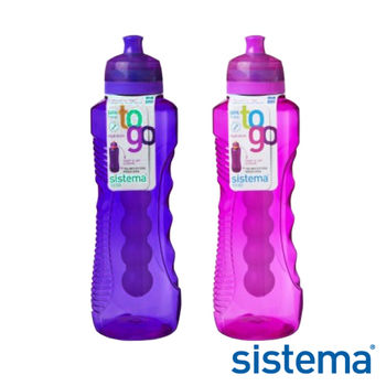 【Sistema】紐西蘭進口外出冷水壺 800ml二入組