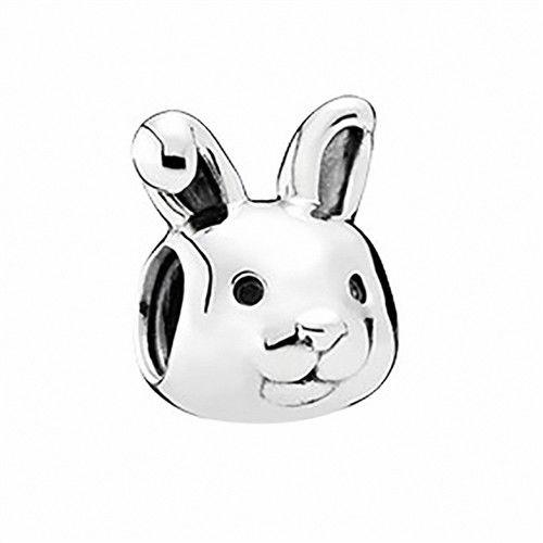 【Pandora】2016春季新款可愛小兔子純銀墜飾串珠(791838)