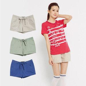 【TOP GIRL】蝴蝶結休閒短褲-超值兩件組