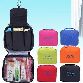 【買達人】可掛式兩用防水洗漱旅行收納包(單色款)