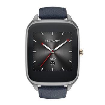 ASUS ZenWatch 2 (大錶22mm) 快充進化版 智慧手錶 真皮伯爵藍
