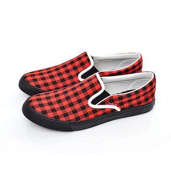 【美國 AIRWALK】方塊符號帆布鞋-男-共三色