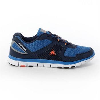 【美國 AIRWALK】記憶線條時尚慢跑鞋-男-共二色