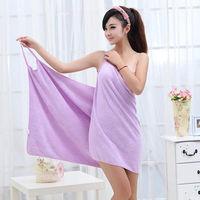 超細纖維吊帶浴巾浴裙沙灘裙