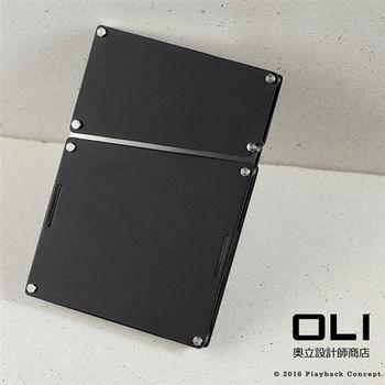 PLAYBACK 墨黑 鋁合金經典名片盒