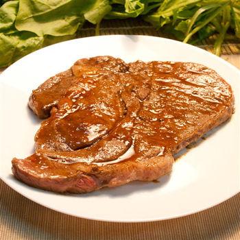 輝帛肉品 美國安格斯嫩肩沙朗牛排(400g/包)