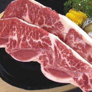 輝帛肉品 紐西蘭PS帶骨牛小排(100g*2片)