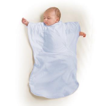 【美國Summer Infant】小蝴蝶背心睡袋-天空粉藍