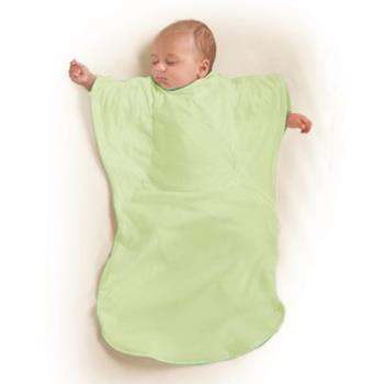【美國Summer Infant】小蝴蝶背心睡袋-粉綠草原