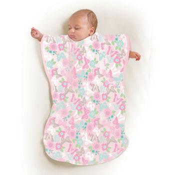 【美國Summer Infant】小蝴蝶背心睡袋-蝴蝶花園