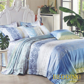 【BEDDING】喜晴   天絲床包雙人兩用被組 100%TENCEL