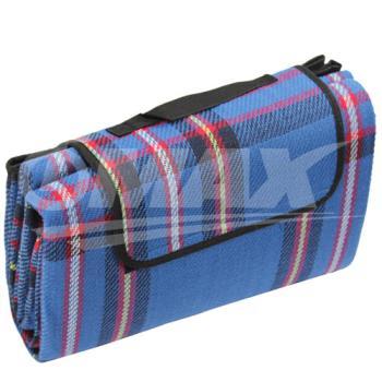 omax加大加厚防水野餐休閒墊-藍色