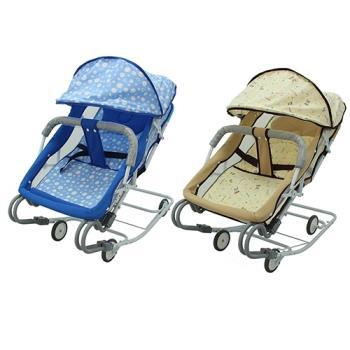 BabyBabe 雙管加寬彈簧搖椅