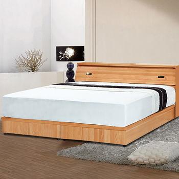 【舒好眠】享樂生活雙人三件式房間組(床頭+床底+獨立筒)