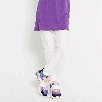 TOP GIRL 輕柔感彈力內搭褲 (白)