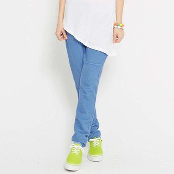 TOP GIRL 輕柔感彈力內搭褲 (藍)