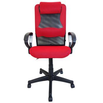 海帝長護腰枕無段傾仰網座辦公椅電腦椅(六色)
