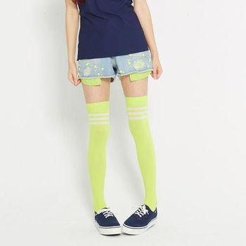 TOP GIRL 星星亮片刷破牛仔短褲-淺藍
