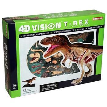 【4D MASTER】恐龍模型系列 - 半透視暴龍 26092