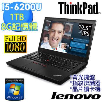 Lenovo 聯想 X260 20F6A02STW 12.5吋FHD i5-6200U 內顯 FHD畫質商務筆電