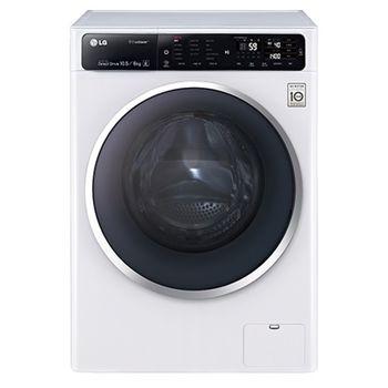 ★結帳再折扣+加碼贈3好禮★【LG樂金】10.5kg蒸氣滾筒洗衣機F1450HT1W