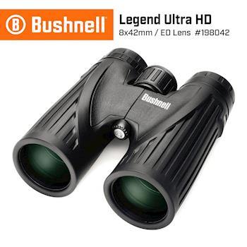 【美國 Bushnell 倍視能】Legend Ultra HD 傳奇系列 8x42mm ED專業賞鳥型雙筒望遠鏡 #198042 (公司貨)