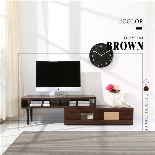 BuyJM 和風防潑水兩用多功能電視櫃(兩色可選)