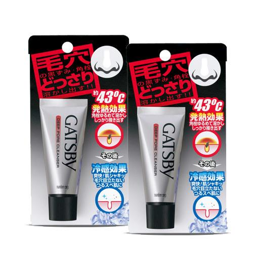 【GATSBY】鼻頭粉刺清潔霜(25g)X2