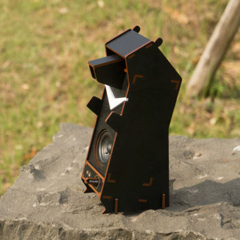Stereo Puzzle 立體拼圖音響|台灣黑熊(單聲道)