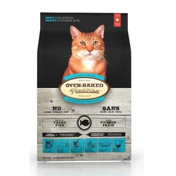 【Oven-Baked】烘焙客 成貓深海魚口味 2.5磅 X 1包