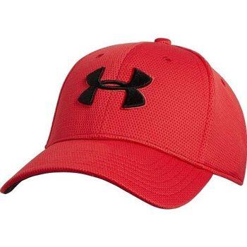 Under Armour 2016男時尚閃電彈力紅色棒球帽(預購)