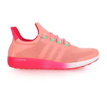 【ADIDAS】CC SONIC W 女慢跑鞋 - 路跑 健身 愛迪達 淺紅桃紅