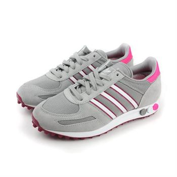 adidas LA TRAINER W 跑鞋 灰 女款 no214