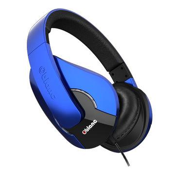 【Oblanc】NC3-Shell 2.0 爵士音樂節推薦經典款 高傳真立體聲頭戴式耳機- 極光藍
