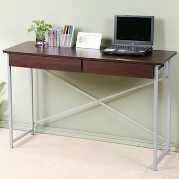 【Homelike】超值附抽工作桌-寬120公分(2色)