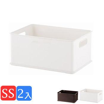 《舒適屋》簡約日系塑膠收納盒/整理箱-SS(3款可選)(2入組)