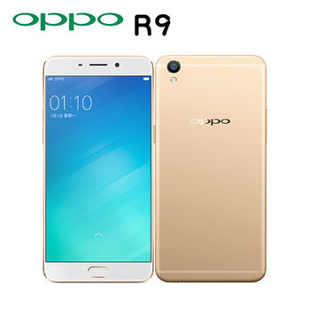 OPPO R9 八核心5.5吋4G LTE全頻雙卡智慧機(4G/64G版)※加贈原廠視窗皮套+USB充電鑰匙扣+內附透明背蓋※