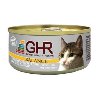 【PREMIER】健康主義 GHR無榖火雞肉、鹿肉配方貓用主食罐 100G x 24入