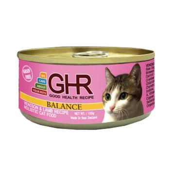 【PREMIER】健康主義 GHR無榖鹿肉、羊肉配方貓用主食罐 100G x 24入
