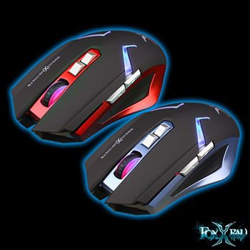 FOXXRAY 雙影獵狐無線雙模電競滑鼠 FXR-BMW-22