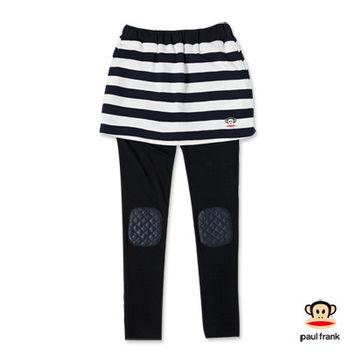 PAUL FRANK-條紋學院風兩件式長褲裙-深藍(女)
