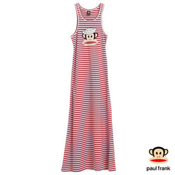 PAUL FRANK-海軍風Julius連身洋裝-紅(女)